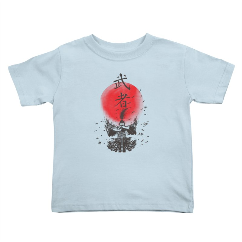 The Warrior Kids Toddler T-Shirt by DesignsbyReg