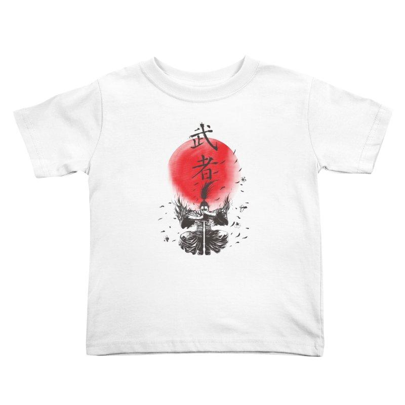 The Warrior Kids Toddler T-Shirt by DesignsbyReg