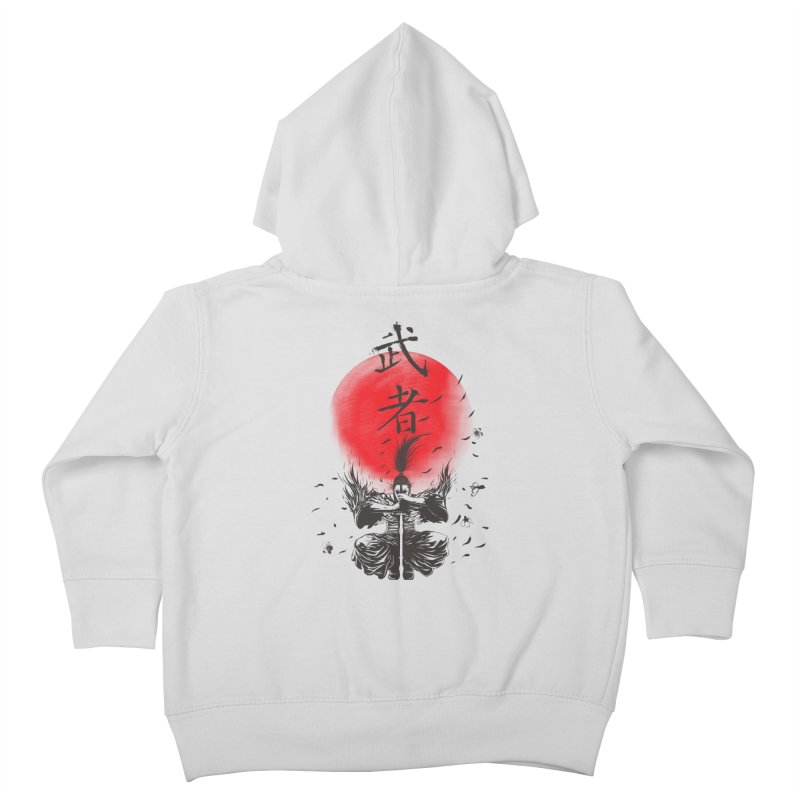 The Warrior Kids Toddler Zip-Up Hoody by DesignsbyReg
