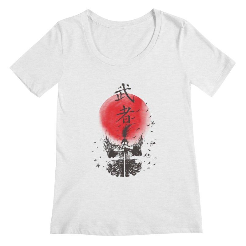 The Warrior Women's Regular Scoop Neck by DesignsbyReg