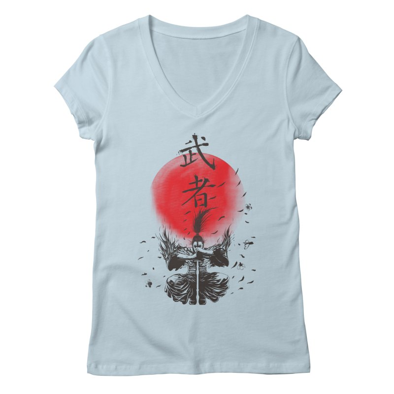 The Warrior Women's V-Neck by DesignsbyReg