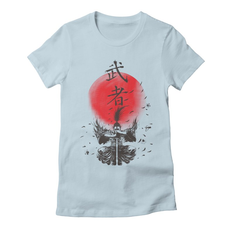 The Warrior Women's Fitted T-Shirt by DesignsbyReg