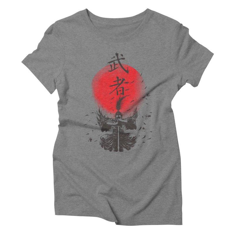 The Warrior Women's Triblend T-shirt by DesignsbyReg