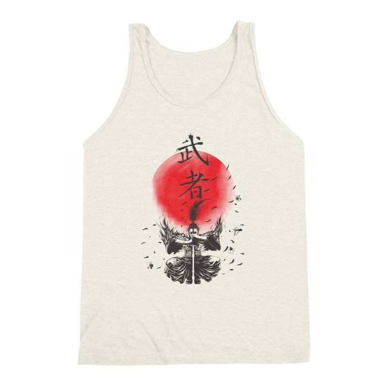 The Warrior Men's Triblend Tank by DesignsbyReg