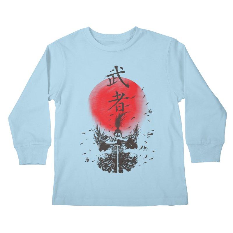 The Warrior Kids Longsleeve T-Shirt by DesignsbyReg