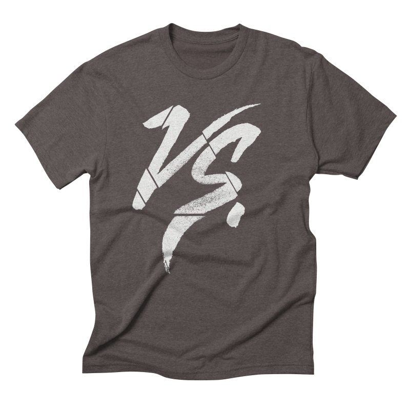 VERSUS Men's Triblend T-Shirt by Dave Watkins