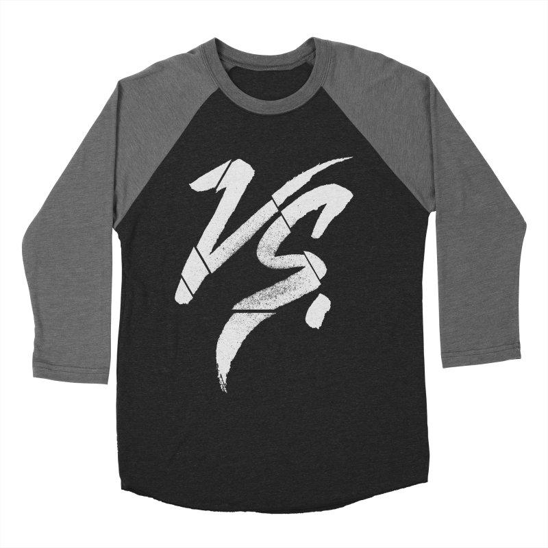 VERSUS Men's Baseball Triblend Longsleeve T-Shirt by Dave Watkins