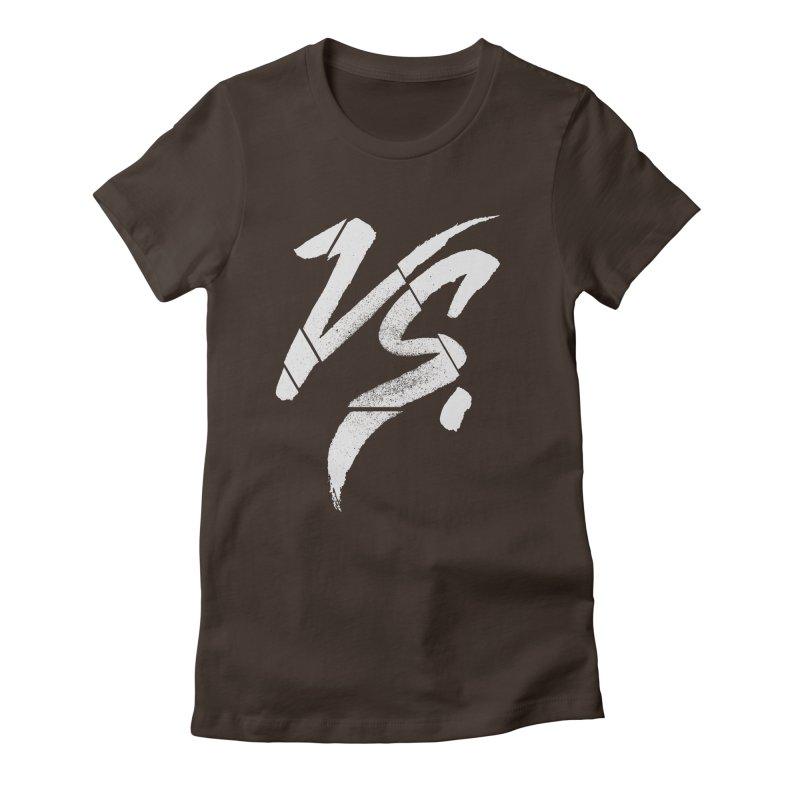 VERSUS Women's Fitted T-Shirt by Dave Watkins