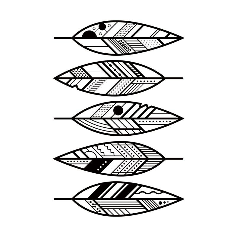Geometric Feathers by Dave Watkins