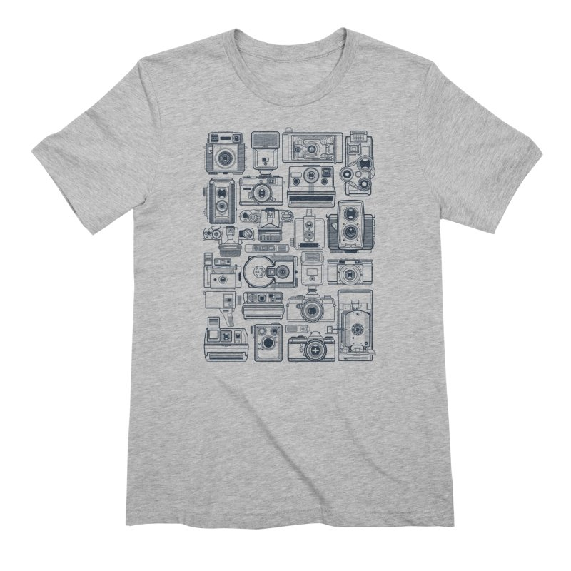 Camera Collector Men's T-Shirt by Dave Watkins
