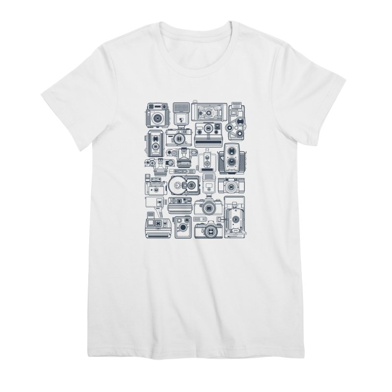 Camera Collector Women's Premium T-Shirt by Dave Watkins