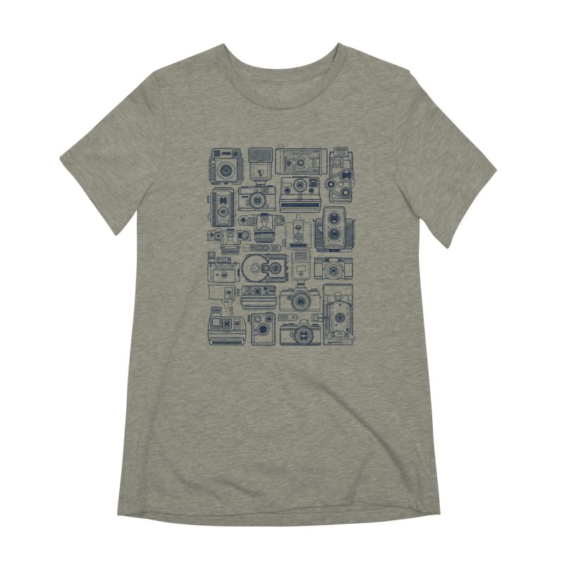 Camera Collector Women's Extra Soft T-Shirt by Dave Watkins