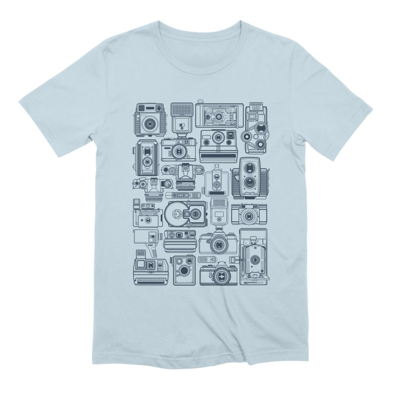 Camera Collector Men's Extra Soft T-Shirt by Dave Watkins