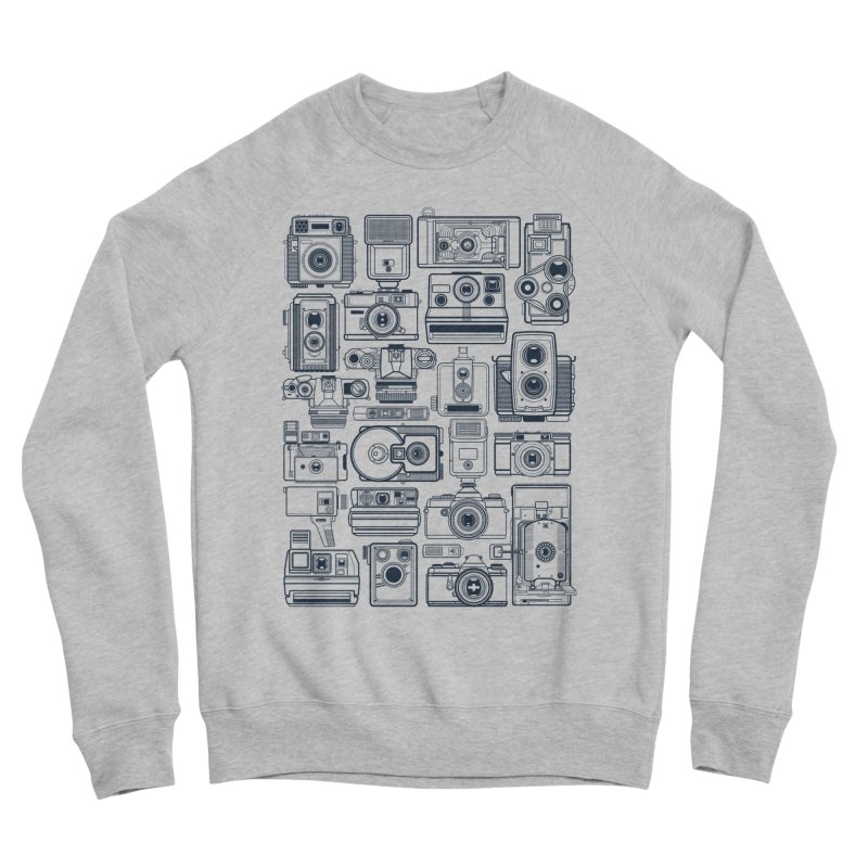 Camera Collector Men's Sponge Fleece Sweatshirt by Dave Watkins