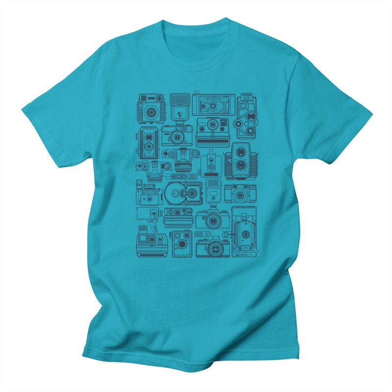 Camera Collector Men's Regular T-Shirt by Dave Watkins