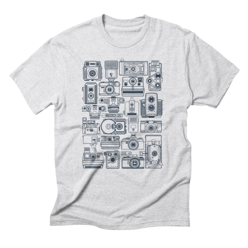 Camera Collector Men's Triblend T-Shirt by Dave Watkins