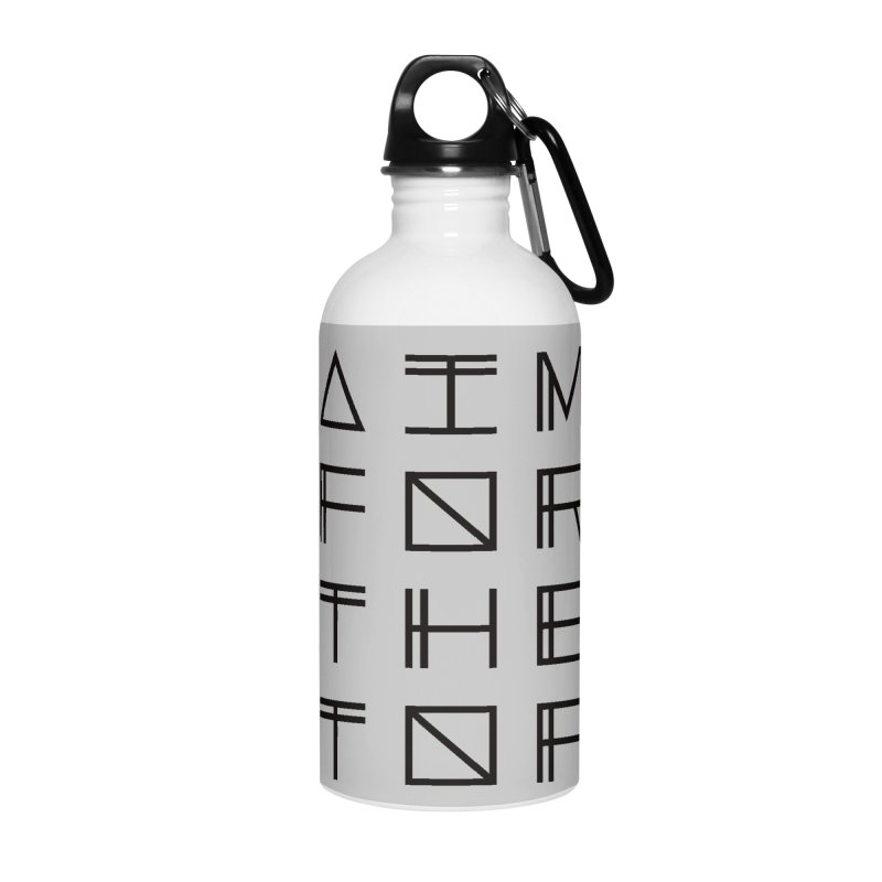 AIM FOR THE TOP Accessories Water Bottle by Dave Watkins