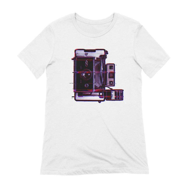 CAMERA GLITCH Women's Extra Soft T-Shirt by Dave Watkins