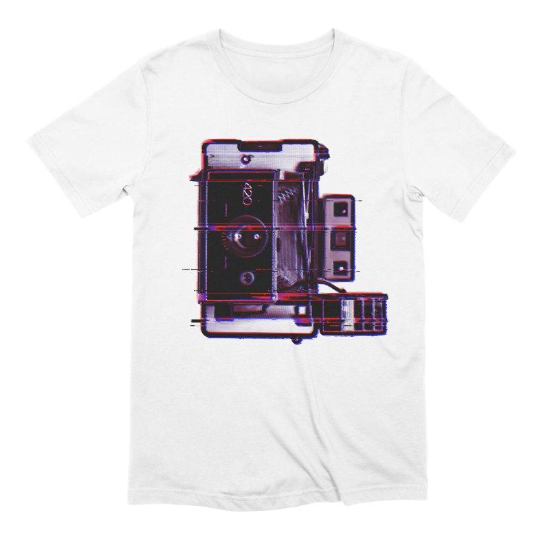 CAMERA GLITCH Men's Extra Soft T-Shirt by Dave Watkins