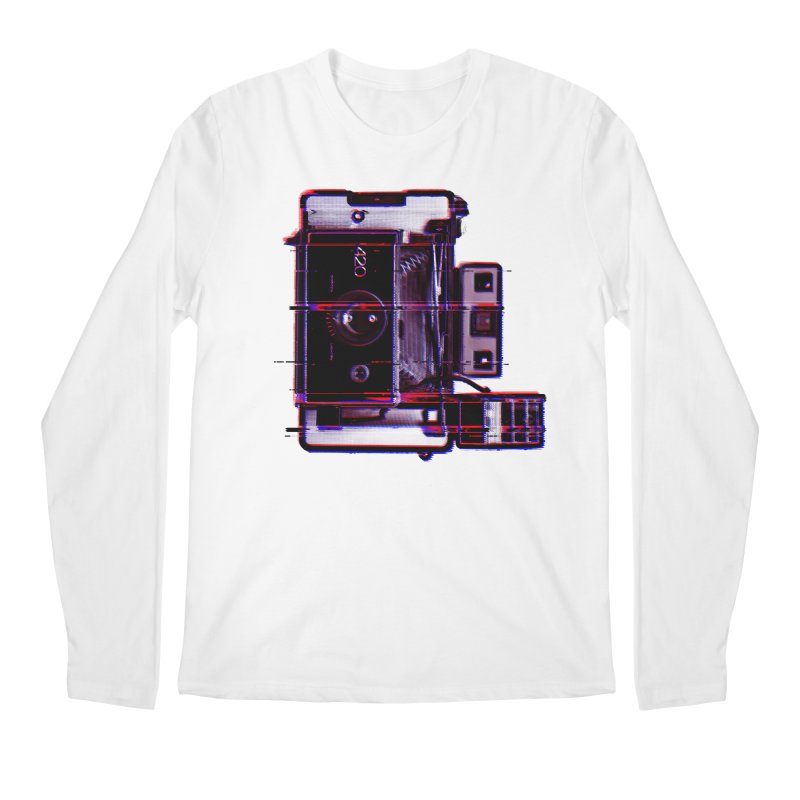CAMERA GLITCH Men's Regular Longsleeve T-Shirt by Dave Watkins
