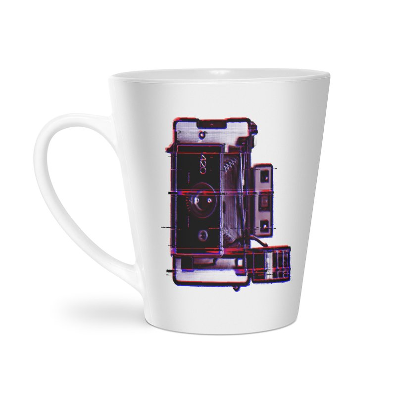 CAMERA GLITCH Accessories Latte Mug by Dave Watkins