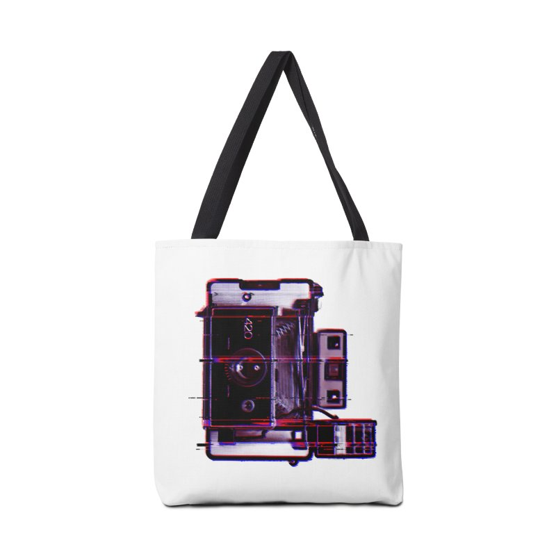 CAMERA GLITCH Accessories Tote Bag Bag by Dave Watkins