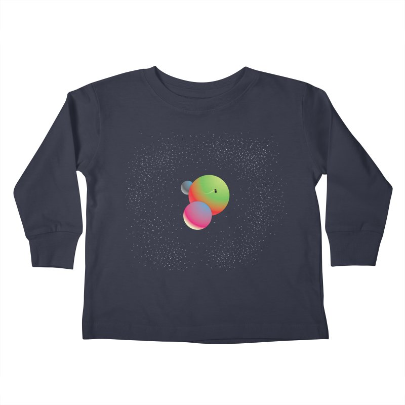 Bigger on the Inside...Even Bigger on the Outside Kids Toddler Longsleeve T-Shirt by Softwear