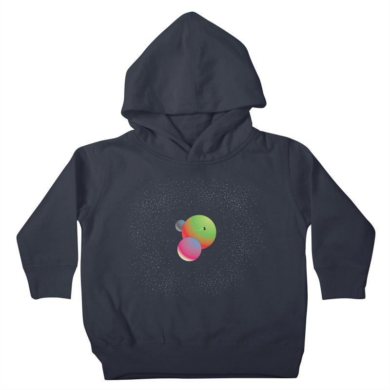 Bigger on the Inside...Even Bigger on the Outside Kids Toddler Pullover Hoody by Softwear