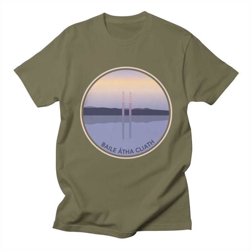 Dublin, Ireland Men's T-Shirt by Softwear