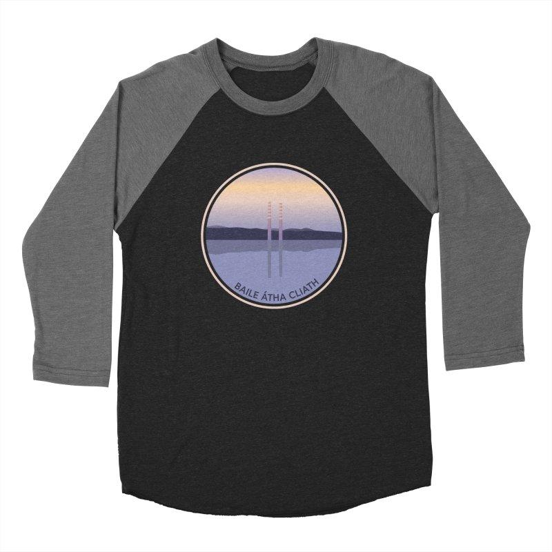 Dublin, Ireland Women's Baseball Triblend Longsleeve T-Shirt by Softwear