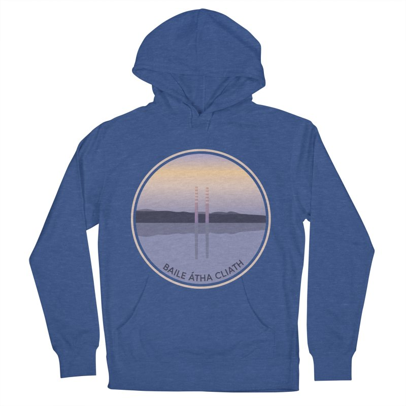 Dublin, Ireland Men's French Terry Pullover Hoody by Softwear