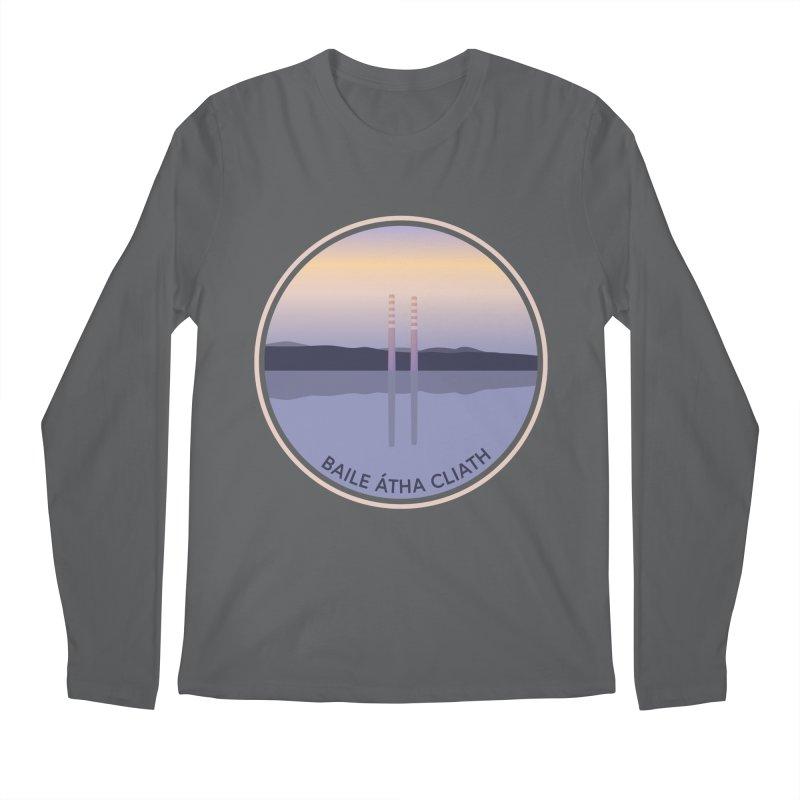 Dublin, Ireland Men's Regular Longsleeve T-Shirt by Softwear