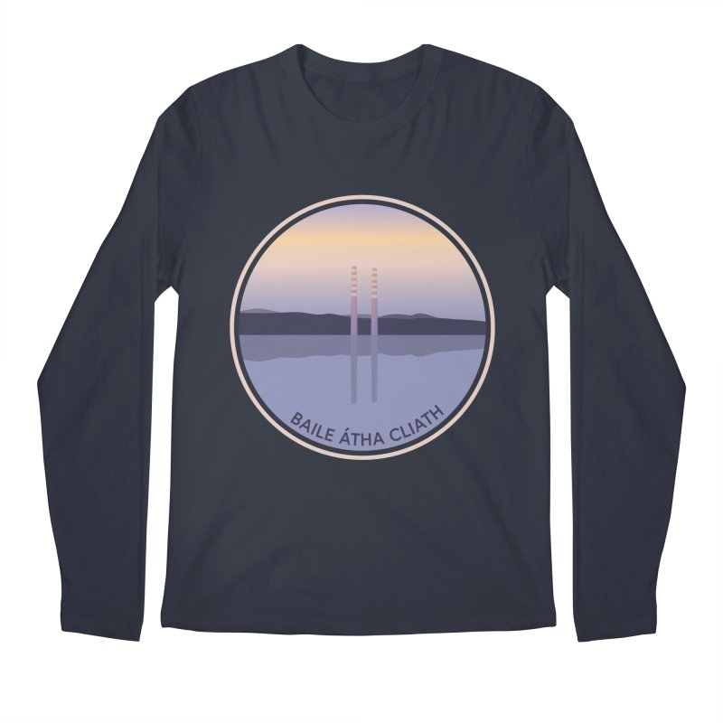 Dublin, Ireland Men's Regular Longsleeve T-Shirt by Softwear