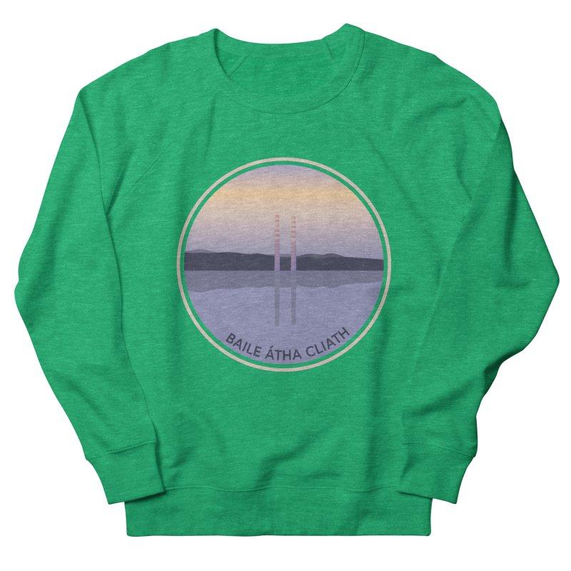 Dublin, Ireland Men's French Terry Sweatshirt by Softwear