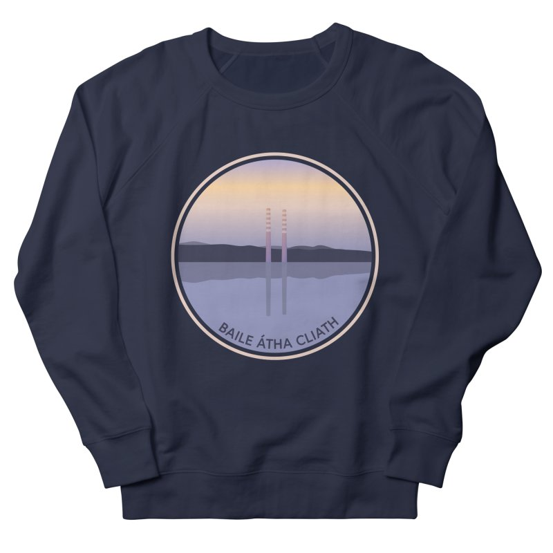 Dublin, Ireland Men's French Terry Sweatshirt by Softwear