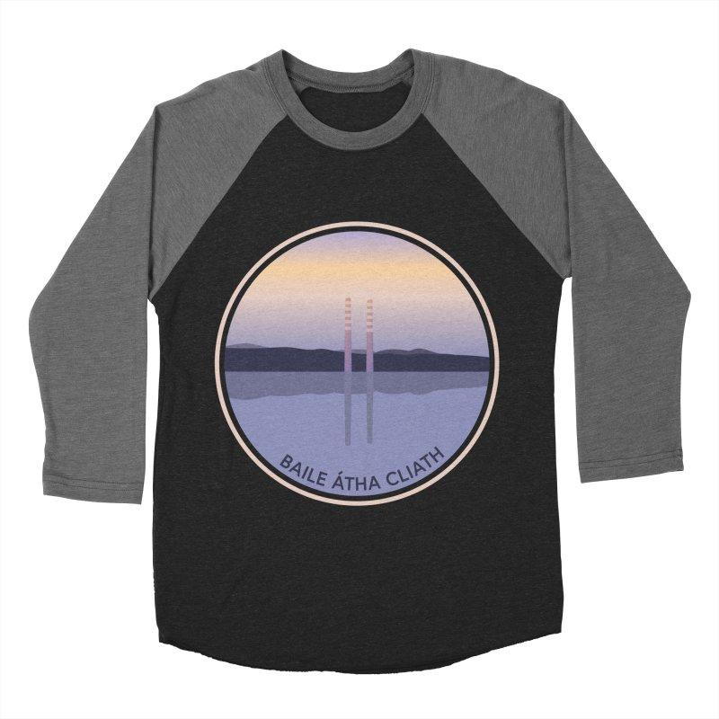 Dublin, Ireland Men's Baseball Triblend Longsleeve T-Shirt by Softwear