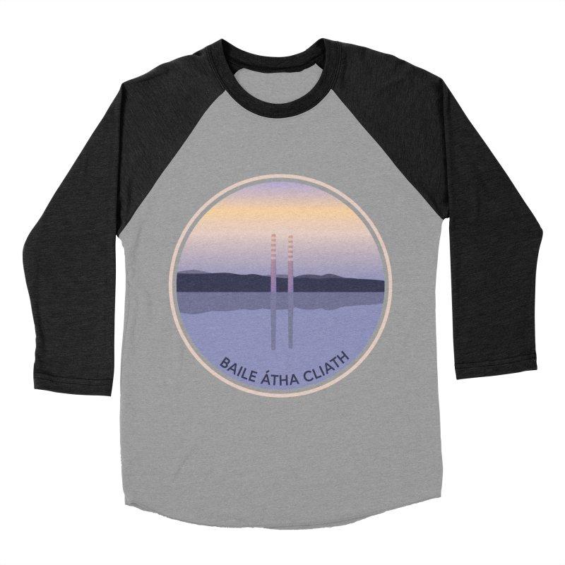 Dublin, Ireland Men's Baseball Triblend T-Shirt by Softwear
