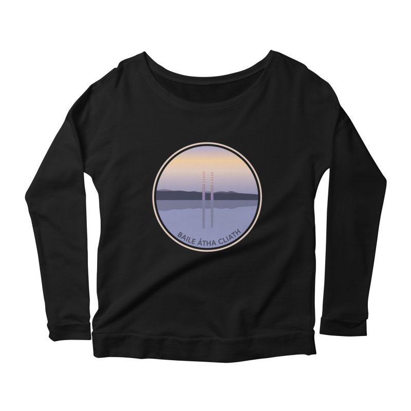 Dublin, Ireland Women's Scoop Neck Longsleeve T-Shirt by Softwear