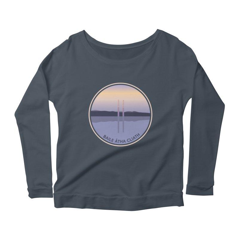 Dublin, Ireland Women's Scoop Neck Longsleeve T-Shirt by Softwear