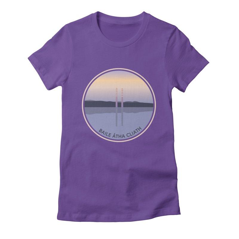 Dublin, Ireland Women's Fitted T-Shirt by Softwear