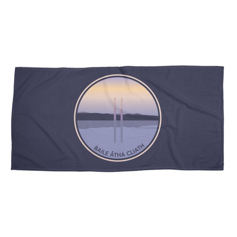 Dublin, Ireland Accessories Beach Towel by Softwear