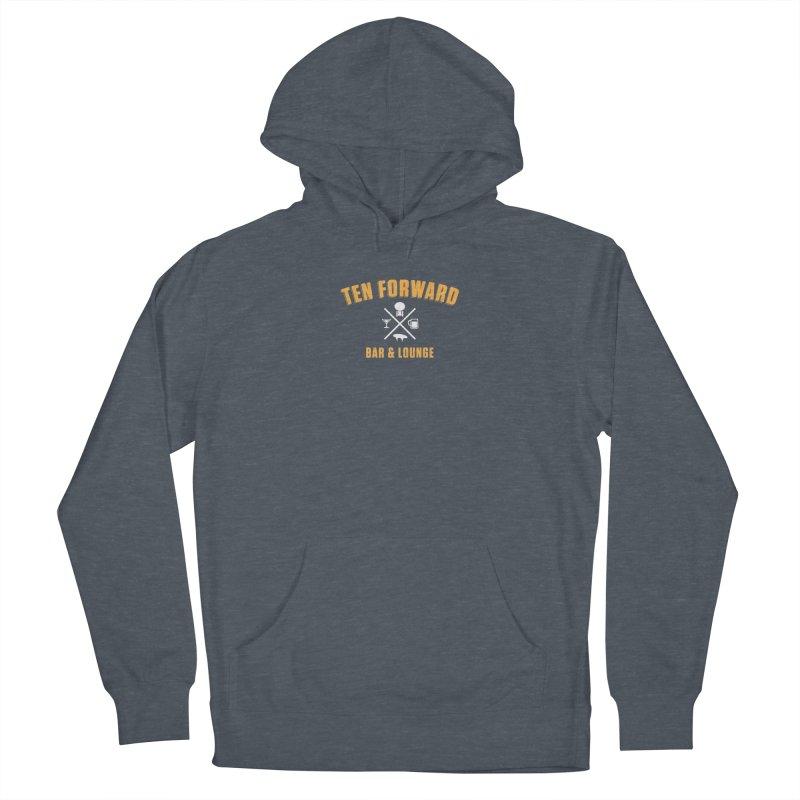 Ten Forward Bar & Lounge Men's Pullover Hoody by Softwear