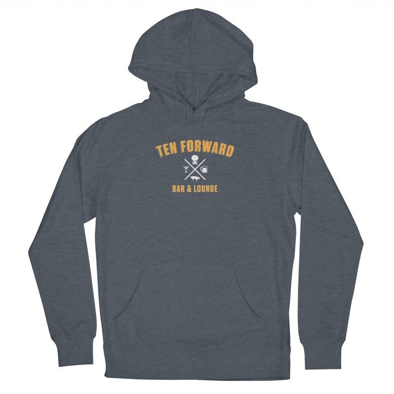 Ten Forward Bar & Lounge Women's Pullover Hoody by Softwear