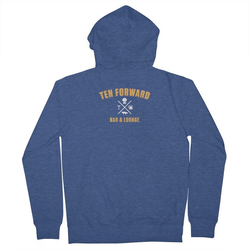 Ten Forward Bar & Lounge Men's French Terry Zip-Up Hoody by Softwear