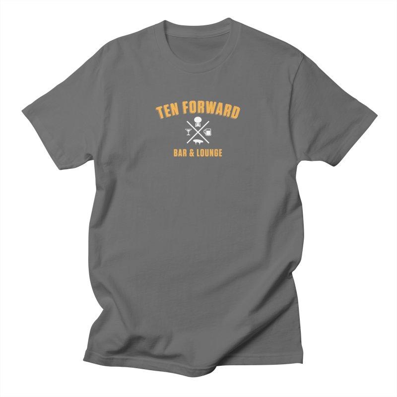 Ten Forward Bar & Lounge Men's T-Shirt by Softwear