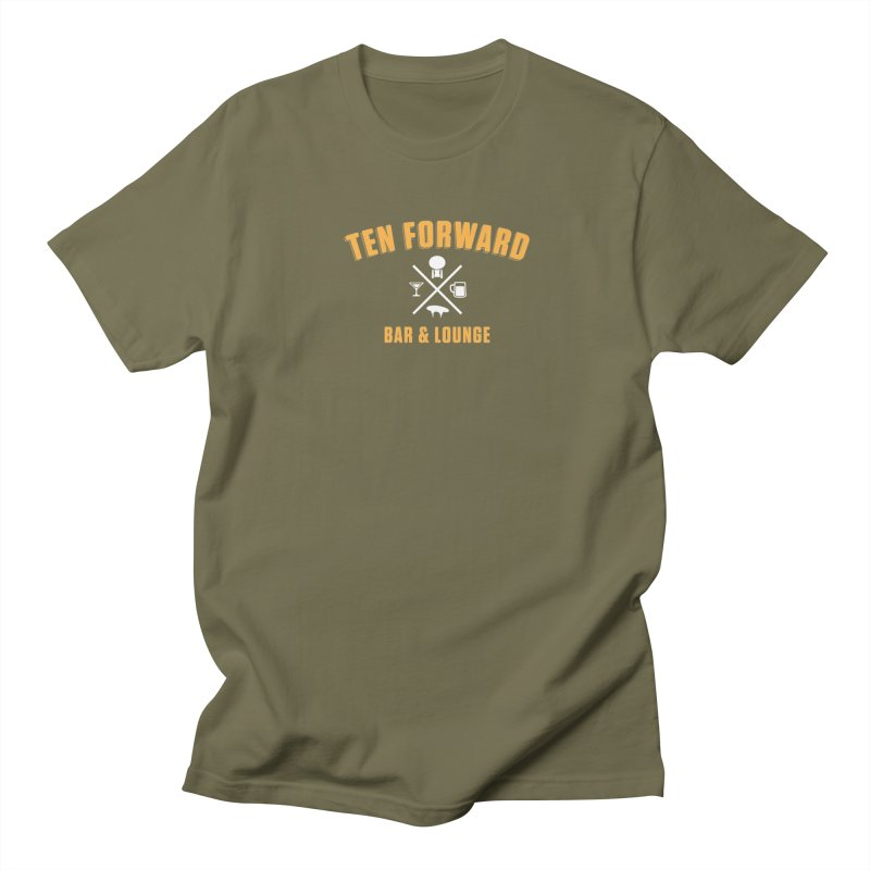 Ten Forward Bar & Lounge Men's T-Shirt by Softwear