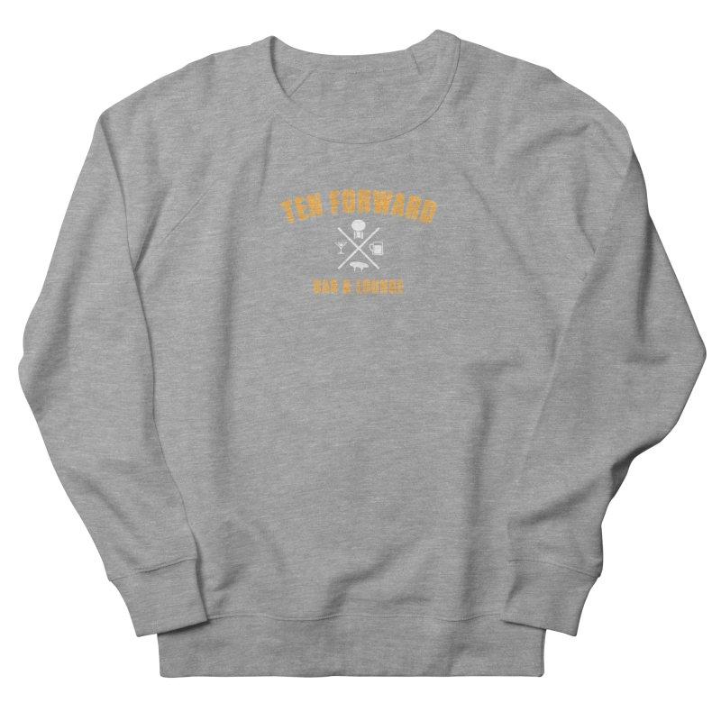 Ten Forward Bar & Lounge Men's French Terry Sweatshirt by Softwear