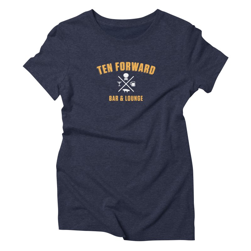 Ten Forward Bar & Lounge Women's T-Shirt by Softwear