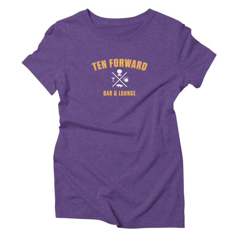 Ten Forward Bar & Lounge Women's Triblend T-Shirt by Softwear