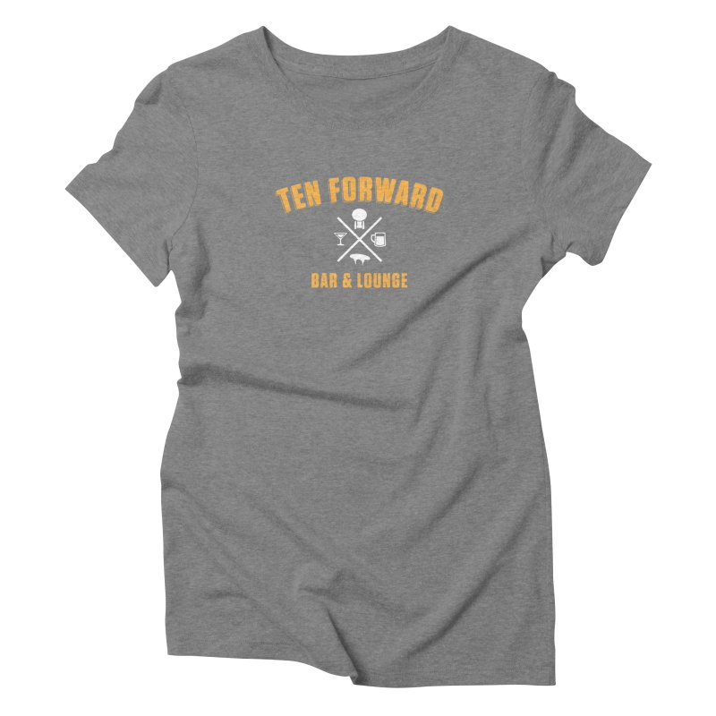 Ten Forward Bar & Lounge Women's Triblend T-Shirt by Softwear
